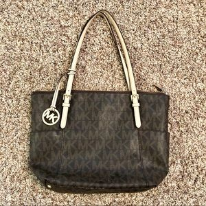 MICHAEL Michael Kors leather tote, good condition